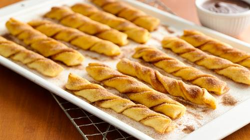Baked Crescent Churros