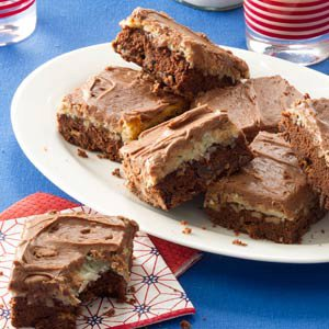 Double Chocolate Coconut Brownies Recipe