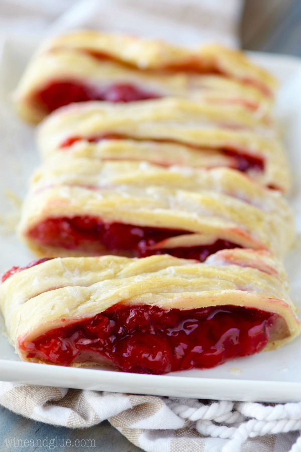 Cherry Almond Braid