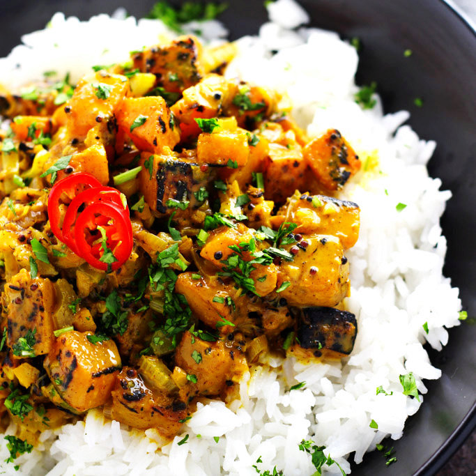 Indian Butternut Squash Curry