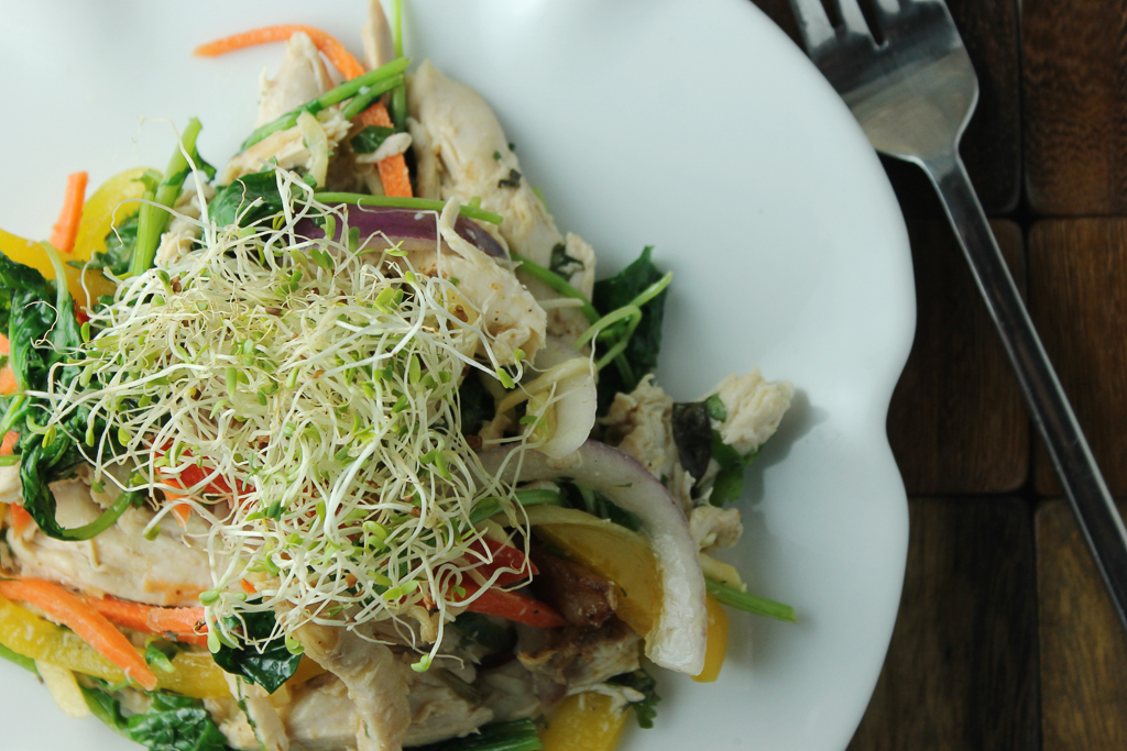 Chicken and Vegetable Bowl