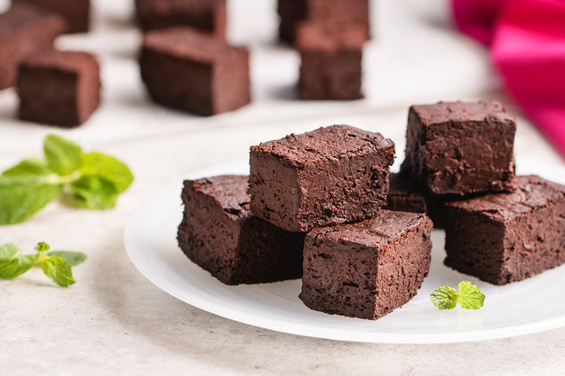 Hint-of-Mint Chocolate Fudge
